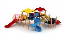 Metal Çocuk Parkları – PMD 004